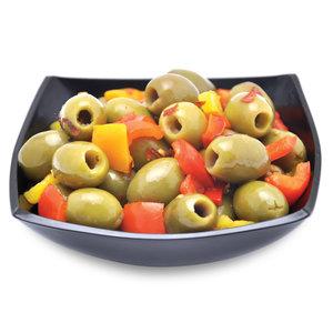 Urkärnade oliver klassiskt PEPPERONA recept
