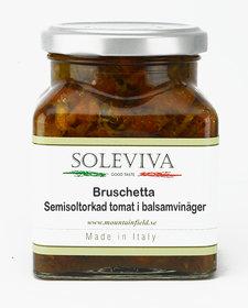 Bruschetta semisoltorkad tomat i balsamvinänger
