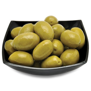 Hela gröna oliver Giant Cerignola