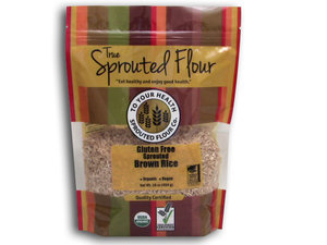 Brown Rice Sprouted Gluten Free
